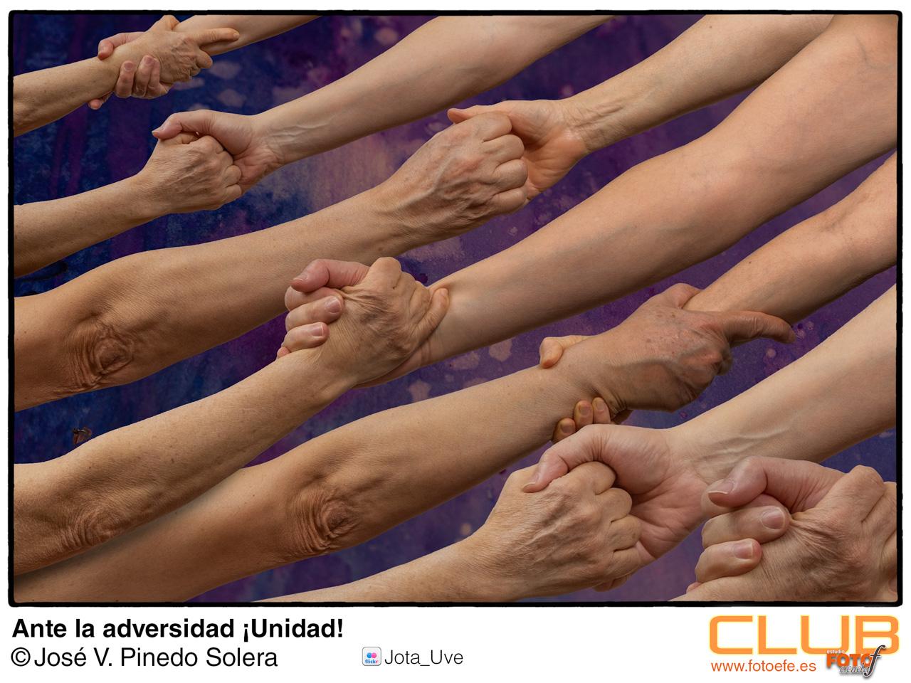Fotografía realizada para la exposición efímera bajo el tema Unidad.